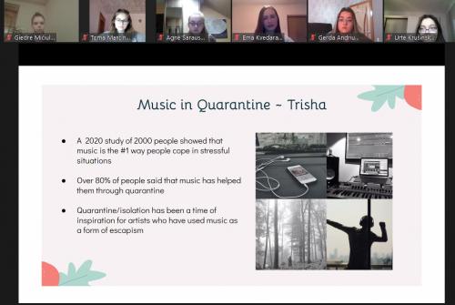 music in quarantine